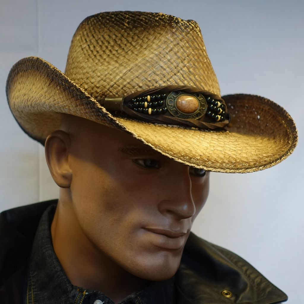 Kenny K Distressed straw hat » Convoy Mail 23f0e46c7cf