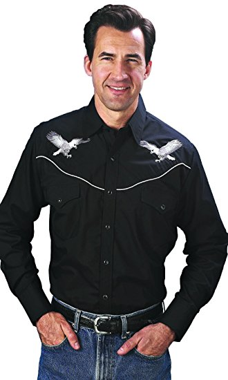 Ely eagle shirt black