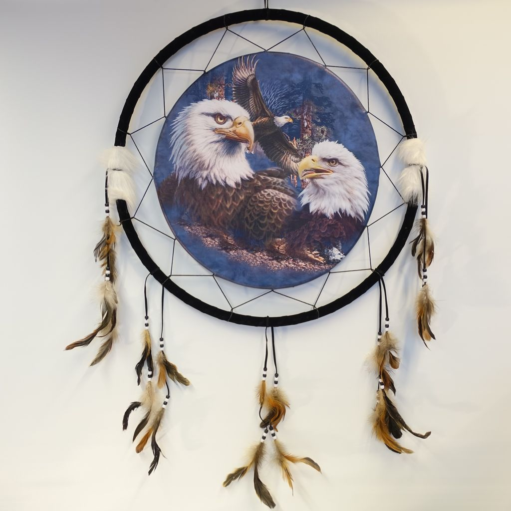 «Eagles» dreamcatcher 60 cm